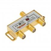"""05-6102-1; Делитель ТВх3 + 4шт. F """"BOX"""" 5-1000 МГц """"GOLD"""""""