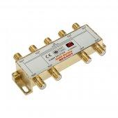 """05-6105-1; Делитель ТВх8 + 9шт. F """"BOX"""" 5-1000 МГц """"GOLD"""""""