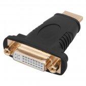17-6807; Переходник штекер HDMI - гнездо DVI-I