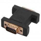 17-6808; Переходник штекер VGA - гнездо DVI-I