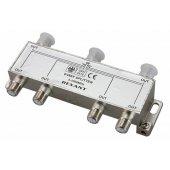 05-6004; Делитель ТВх6 под F разъём 5-1000 МГц