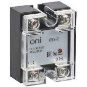 OSS-1-3-25-B; Реле твердотельное OSS-1 25А 380В AC 3-32В DC