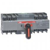 Рубильник (выключатель нагрузки) OTM125F3CMA230V реверсивный трехполюсный 3P с моторным приводом; 1SCA120070R1001