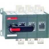 Рубильник (выключатель нагрузки) OT400E03С реверсивный трехполюсный 3P без ручки; 1SCA022764R1950