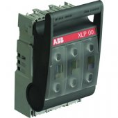 Рубильник (выключатель нагрузки) под предохранители 160А XLP00-6BC кабельная клемма; 1SEP101890R0002