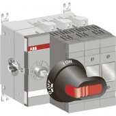 Рубильник (выключатель нагрузки) OS63GD03 без ручки под предохранители DIN-000; 1SCA115206R1001