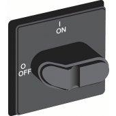 1SCA108316R1001; Ручка OHBS3PHE-RUH черная с символами для рубильников OT16..40FT