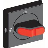 1SCA108274R1001; Ручка OHBS2RJE-RUH черная с символами для рубильников OT16..125FT