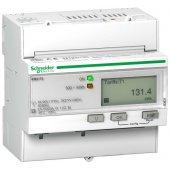 Powerlogic Счетчик трехфазный активной энергии iEM3115, 4 тарифа, кл. точн. 1, прям. включения; A9MEM3115R
