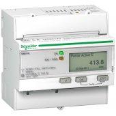 Powerlogic Счетчик электроэнергии трехфазный iEM3110 1 тариф, имп. выход, кл. точн. 1, прям. вкл.; A9MEM3110R