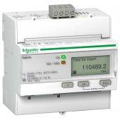 Powerlogic Счетчик электроэнергии трехфазный iEM3155 4 тарифа, RS-485, кл. точн. 1, прям. вкл.; A9MEM3155R