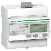 Счетчик электроэнергии трехфазный однотарифный iE M3150 RS-485, кл. точн. 1, прям. вкл.; A9MEM3150R