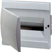 1SL0500A06; Бокс в нишу встраиваемый ЩРв-П-8 8М непрозрачная дверь белый (с клеммным блоком) IP40 UNIBOX