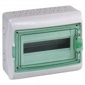 Щит распределительный навесной ЩРн-П-12 IP65 пластиковый прозрачная дверь белый Kaedra; 13981