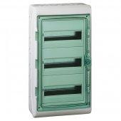 Щит распределительный навесной ЩРн-П-36 (3х12) IP65 пластиковый прозрачная дверь белый Kaedra; 13985