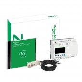 SR2PACK2BD; Zelio Logic Комплект (Реле компактное +ПО+кабель SR2USB01) 20 I/O 24V (DC)