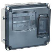 MSP1-N-03-55; Бокс учётно-распределительный пластиковый ЩУРн-П 1/3 IP55 PC