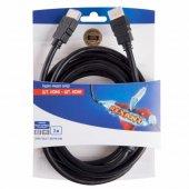 06-3102; Шнур HDMI-HDMI, 3 м, Gold с ферритами