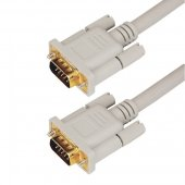 17-5503-4; Шнур VGA - VGA с ферритами, длина 1.8 метра, серый (GOLD)
