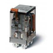 563290240040; Миниатюрное силовое электромеханическое реле или наконечники Faston (4.8х0.5мм) 2CO 12A, AgNi, катушка 24В DC, RTI