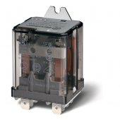 628382300000; Силовое электромеханическое реле, Faston 250 (6.3х0.8мм) 3CO 16A, AgCdO, катушка 230В AC, RTI, монтажный фланец