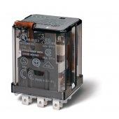 623390240000; Силовое электромеханическое реле или наконечники Faston 187 (4.8х0.5мм) 3CO 16A, AgCdO, катушка 24В DC, RTI