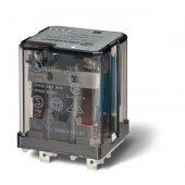 623280120040; Силовое электромеханическое реле или наконечники Faston 187 (4.8х0.5мм) 2CO 16A, AgCdO, катушка 12В AC, RTI