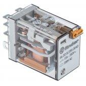 563282300040; Миниатюрное силовое электромеханическое реле или наконечники Faston (4.8х0.5мм) 2CO 12A, AgNi, катушка 230В АC, RTI
