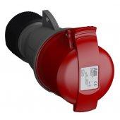 Розетка кабельная красная 16A 3P+E IP44 переносная 415В Easy&Safe (316EC6); 2CMA102012R1000