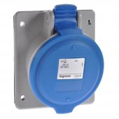 Встраиваемая наклонная розетка P17 Tempra Pro IP44 200/250В 32А 3К+З; 555285