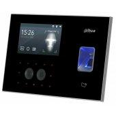 Терминал контроля доступа и учета рабочего времени с распознаванием лиц и ИК-подсветкой; DHI-ASA4214F