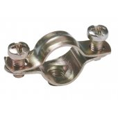 CMA12-21-100; Скоба металлическая двухкомпонентная D21-22мм