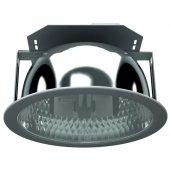 1201000400; Светильник люминесцентный DLS 2x26 HF встраиваемый Downlight ЭПРА под КЛЛ