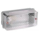 LNPP0-3006-1-060-K01; Светильник НПП-60вт прямоугольный без решетки IP54 3006 серый