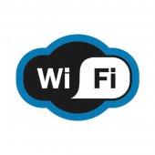 56-0017-2; Табличка ПВХ «Зона Wi-Fi» 200х150 мм