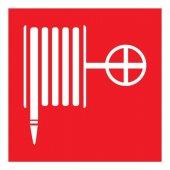 56-0055-2; Табличка ПВХ знак пожарной безопасности «Пожарный кран» 200х200 мм