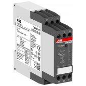 1SVR730712R2200; Термисторное реле защиты двигателя CM-MSS.33S с кнопкой сброса и контролем КЗ (с возм. отключения), 110-130В AC, 220-240В AC, 2ПК, винтовые клеммы