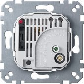 MTN536302; Merten Механизм Терморегулятора-выключателя 10A 230В
