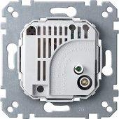 MTN536400; Merten Механизм Терморегулятора с переключающим контактом, 10А 230В
