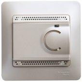 GSL000638; Glossa Перламутр Термостат электронный теплого пола с датчиком от +5 до +50°C, 10A (в сборе)