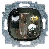 8140.1; Механизм комнатного терморегулятора с нормально-закрытым контактом, с выключателем, 10А/250В