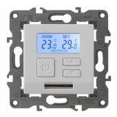 Терморегулятор универсальный 230В-Imax16А Elegance белый 14-4111-01; Б0034375