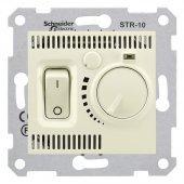 SDN6000147; Sedna Термостат бежевый комнатный 10А