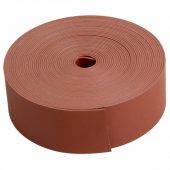 48-9004; Тeрмоусаживаемая лента с клеевым слоем 25 ммх0.8 мм, красная, ролик 5 м, ТЛ-0.8