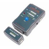 12-1011; Тестер кабеля универсальный RJ-45+USB 251454
