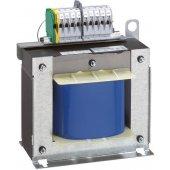 Однофазный трансформатор обеспечения безопасности - первичная обмотка 230/400 В/вторичная обмотка 12/24 В - 1000 ВА; 042849