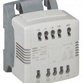 Однофазный трансформатор управления и обеспечения безопасности - первичная обмотка 230/400 В/вторичная обмотка 24 В - 63 ВА; 044202