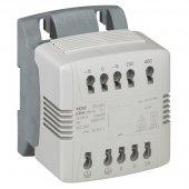 044205; Однофазный трансформатор управления и обеспечения безопасности - первичная обмотка 250/210 В/вторичная обмотка 24 В - 250 ВА