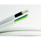 9L91650 Труба гибкая гофрированная номинальный ф16мм, ПВХ-пластикат, в комплекте с кабелем ВВГнг-LS 3х1.5 ГОСТ