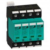 114297; Ограничитель импульсных перенапряжений (УЗИП) OptiDin OM-II-4-280/40